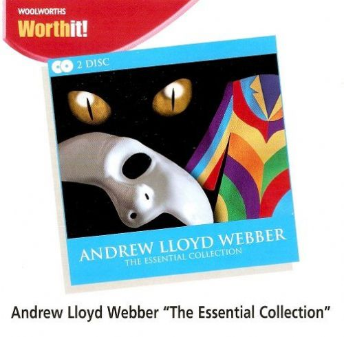 ANDREW LLOYD WEBBER The Essential Collection CD Album Woolworths 2008